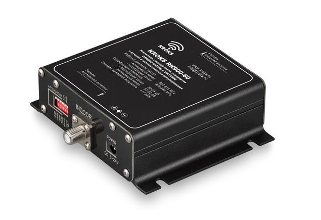 Репитер GSM900 (EGSM) и UMTS900 сигналов 900 МГц 60 дБ