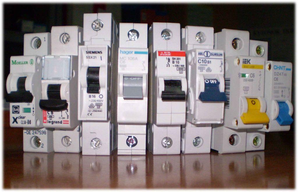 Автоматисеские выключатели