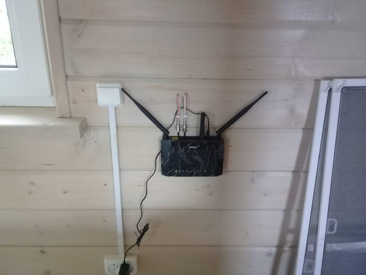 Установка интернета в частном доме фото - 2