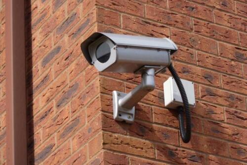 Пример установки камеры в частном доме