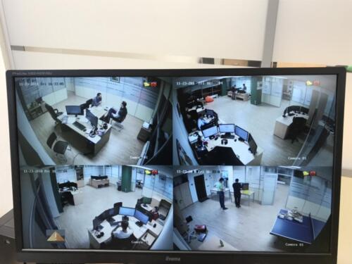 Обзор камер видеонаблюдения в офисе