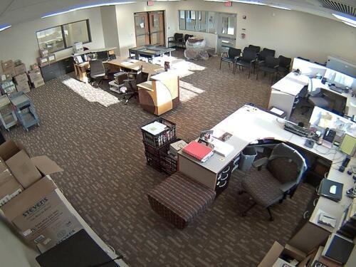 Обзор камеры видеонаблюдения в офисе